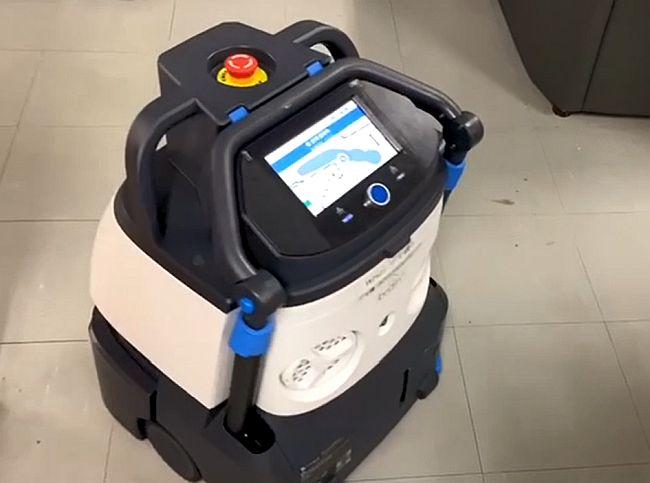 ロボット清掃