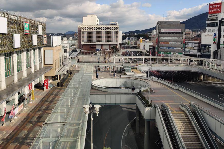 黒崎駅前デッキ